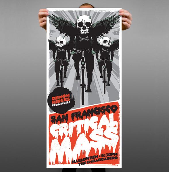 SF Critical Mass Poster